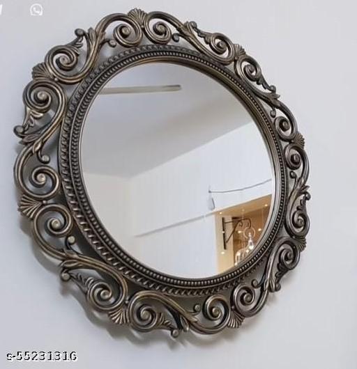 woodden mirror