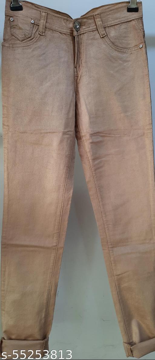 Woman velvet jeans