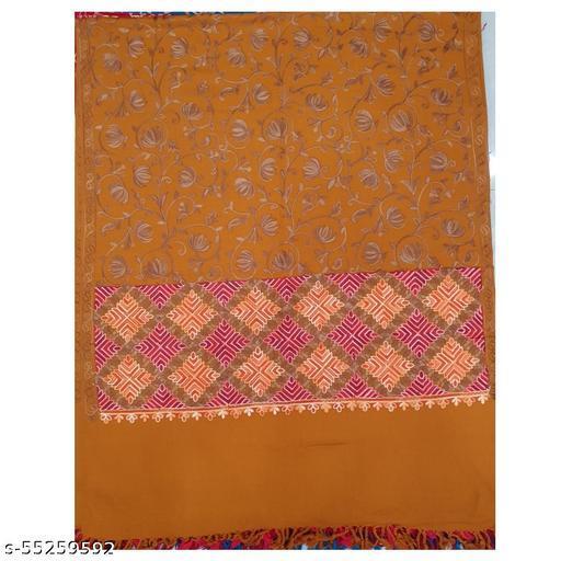 Kcwoolcare , Kashmiri Stylist trendy acrylic embriodery women shawl
