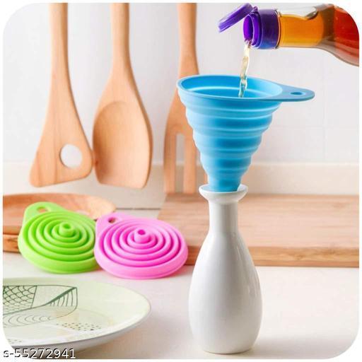 silicone funnel | silicone folding  funnel | set of 1 | multi-colour
