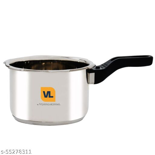 Vijayalakshmi Stainless Steel Outer lid Pressure cooker 3 Litre