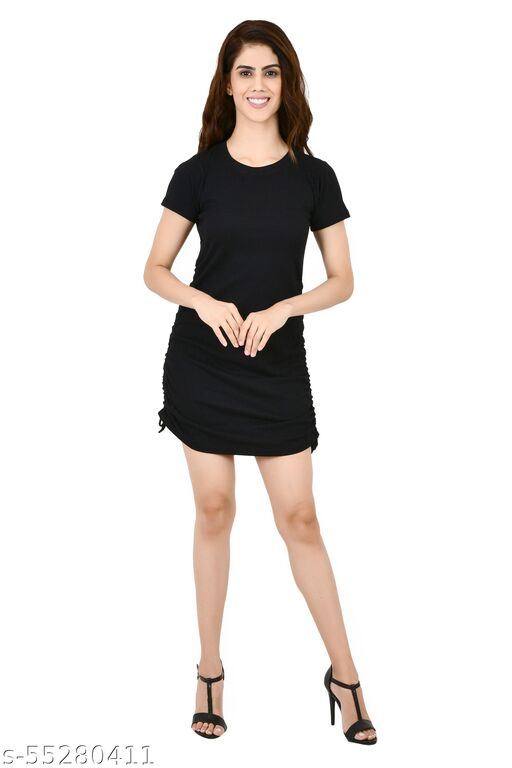 INSPIRE THE NEXT DOUBLE DORI BLACK DRESS