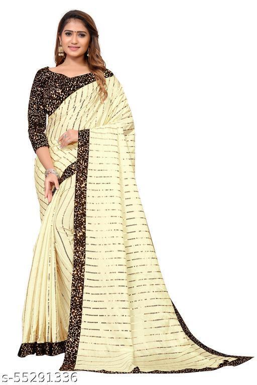 Fancy Silk Saree With Blouse Piece