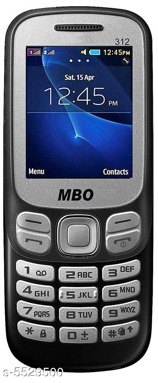 Feature Phones Basic MBO Basic Mobile Phone  *Product Type * Feature Phone  *Material * Plastic  *Display Size * 1.77 inch  *Battery Capacity * 1000 mah Lithium-ion Removable battery  *Sim Type * Dual Sim (GSM+GSM)  *Features* Dual Sim,FM Radio,  *Ram * 32 MB  *Expandable Memory* 8 GB.  *Description * It Has 1 Piece Of  Feature Phone,1 Piece Of Battery,1 Piece Of Charger  *Sizes Available* Free Size *   Catalog Rating: ★2.8 (6)  Catalog Name: Modern Trendy Stylish Plastic Featured Phones Vol 1 CatalogID_826102 C101-SC1393 Code: 498-5529500-