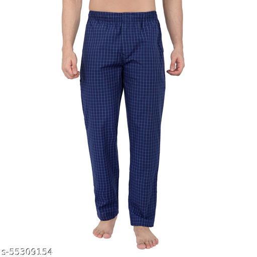 Men's 100% Cotton Lounge Pant - Checks ( Pack of 1 )