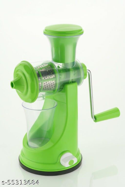 Premium Fruit Juicer with Stainless Steel Jali (Non Electric)