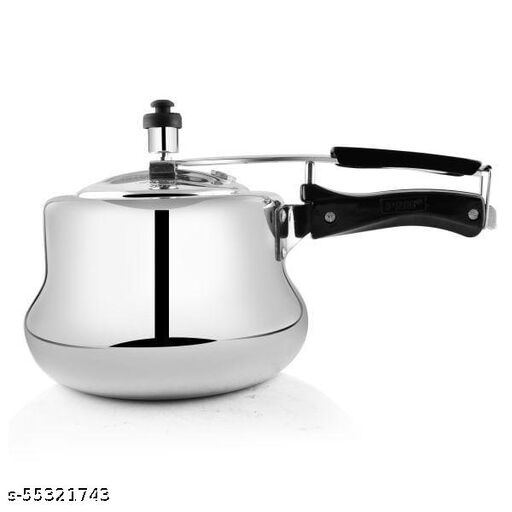 PNB Kitchenmate Belly Aluminium Pressure Cooker - belly -