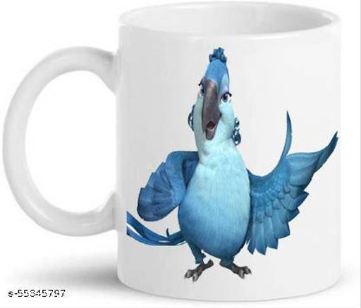 ARFA Cerimic Coffee Mug/ Milk Mug / Juice Mug capcity 350 ml, 1 Piece. Printed at both side.