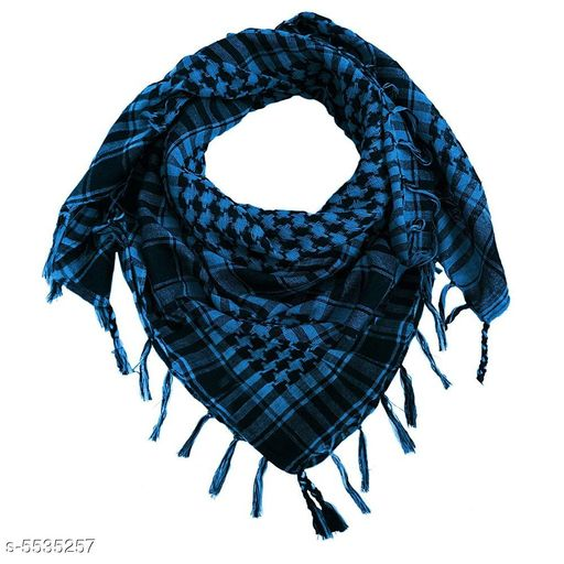 Mufflers, Scarves & Gloves Ramanta Unisex Scarf   *Fabric* Cotton  *Multipack* 1  *Sizes* Free Size  *Sizes Available* Free Size *    Catalog Name: Trendy Men Mufflers CatalogID_827114 C65-SC1228 Code: 352-5535257-