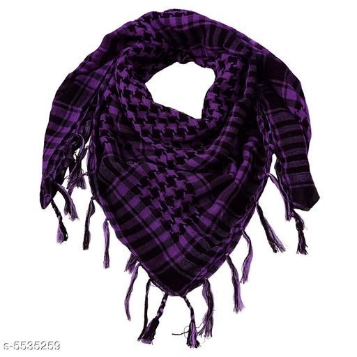 Mufflers, Scarves & Gloves Ramanta Unisex Scarf   *Fabric* Cotton  *Multipack* 1  *Sizes* Free Size  *Sizes Available* Free Size *    Catalog Name: Trendy Men Mufflers CatalogID_827114 C65-SC1228 Code: 352-5535259-