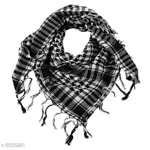 Mufflers, Scarves & Gloves Ramanta Unisex Scarf   *Fabric* Cotton  *Multipack* 1  *Sizes* Free Size  *Sizes Available* Free Size *    Catalog Name: Trendy Men Mufflers CatalogID_827114 C65-SC1228 Code: 352-5535261-