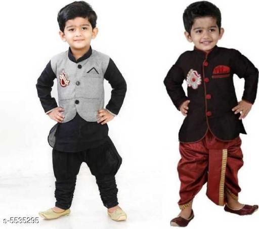 Kid's Boy's Sherwani's