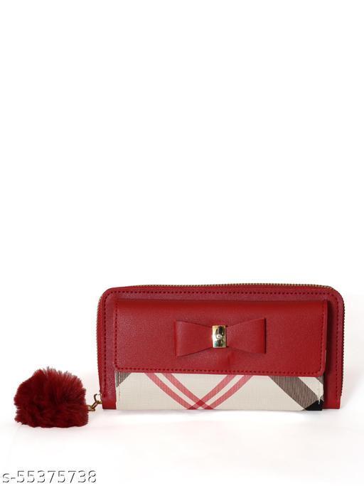 Women Casuel Red Wallet
