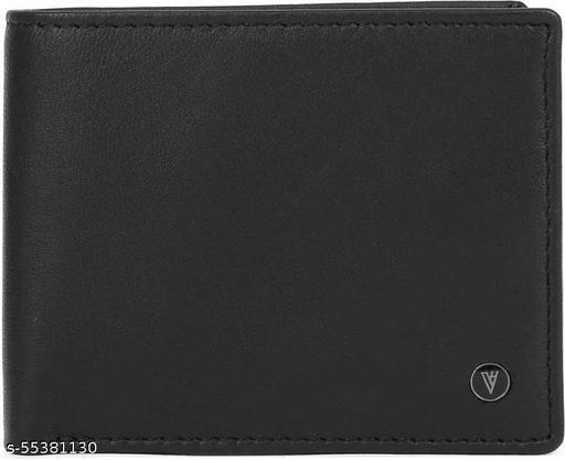 smartlook Men Casual (Black)  Leather Wallet - Regular Size