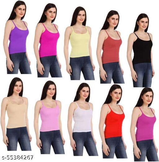 pack of 10 small camisole