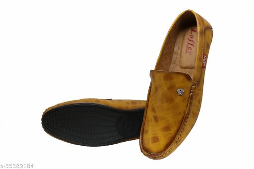 Loafer for men Yellow