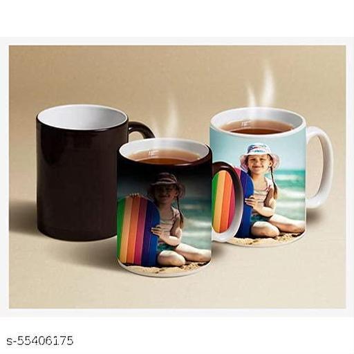 Ceramic Color Changing Magic Photo Mug/ Heat Sensitive Mug  Personalized with Photo and Message Coffee/Tea Mug  Ideal for Gift
