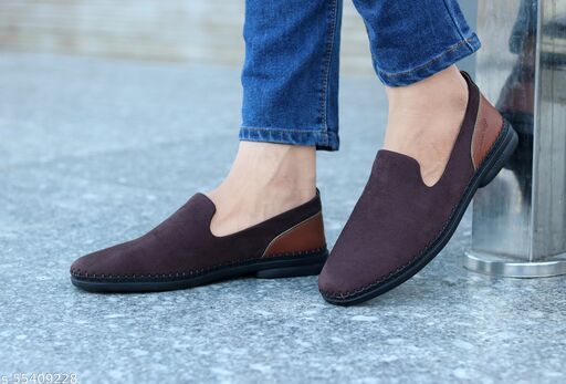 Better Life Loafers For Men (Brown)