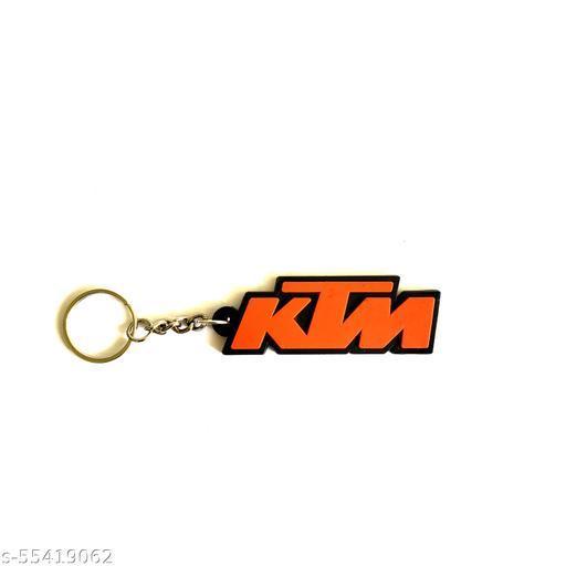 ShopTalk Ktm Ready To Race Rubber key chain