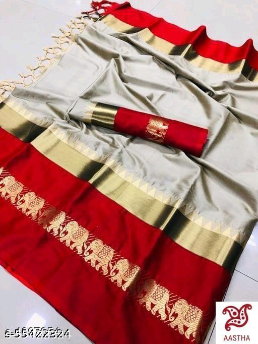 Rajwadi Soft Cotton Saree