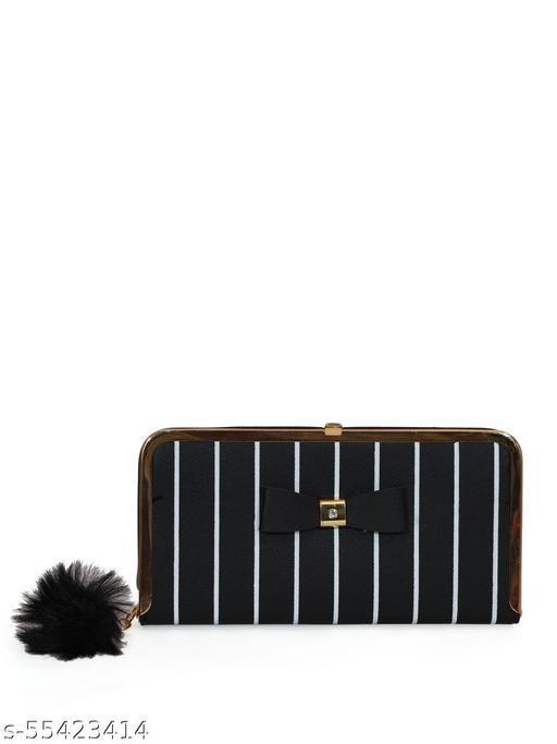 Women Casuel Black Wallet
