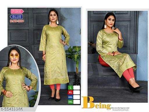 stylish kurti with work