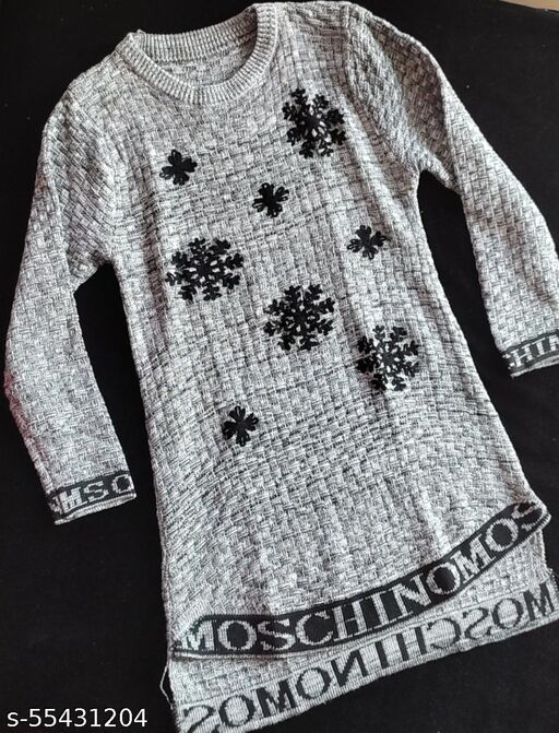 EEmbroidered Woolen Sweaters