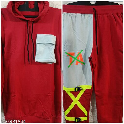 Funky Cotton Tracksuit For Men