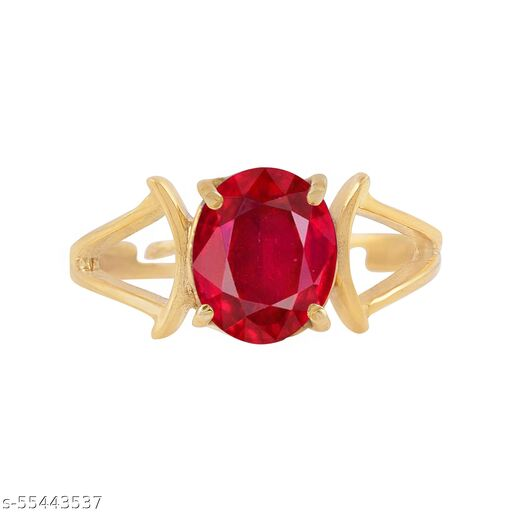 Natural Manik (Ruby) 7.25 Carat Ring For Men And Women With Lab Certified