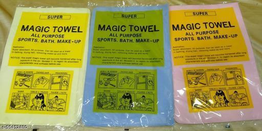 Magic Towel Reusable Absorbent Water