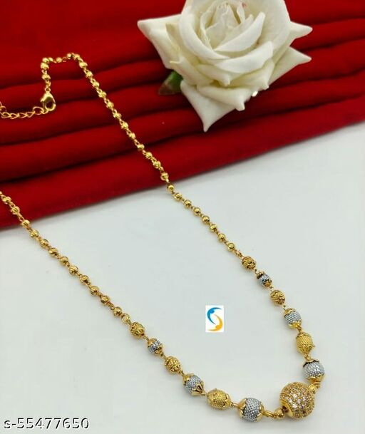 2 TONE AD BALL Necklaces & Chains