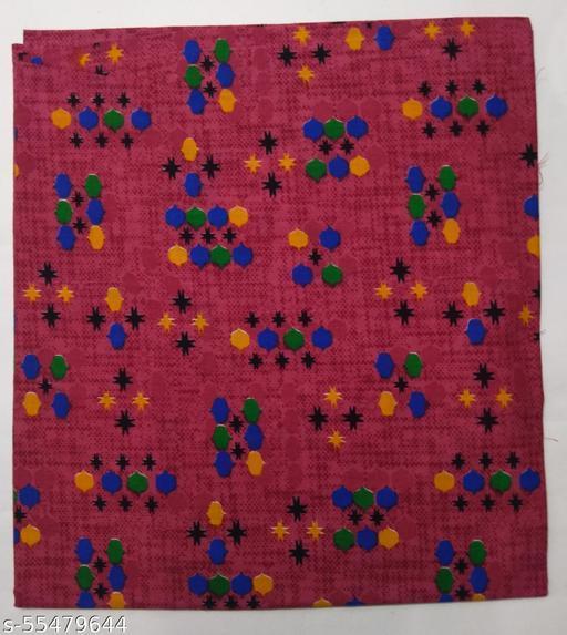 Kalamkari Blouse unstitched Cotton 1 Meter multicolor (426)