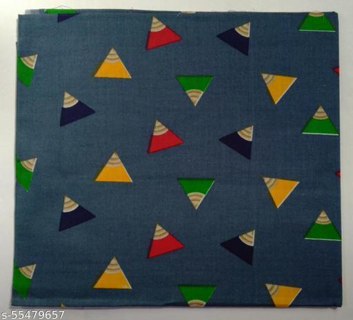 Kalamkari Blouse unstitched Cotton 1 Meter multicolor (379)