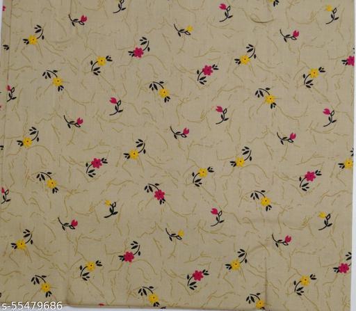 Kalamkari Blouse unstitched Cotton 1 Meter multicolor (408)