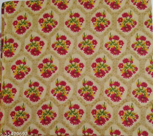 Kalamkari Blouse unstitched Cotton 1 Meter multicolor (411)
