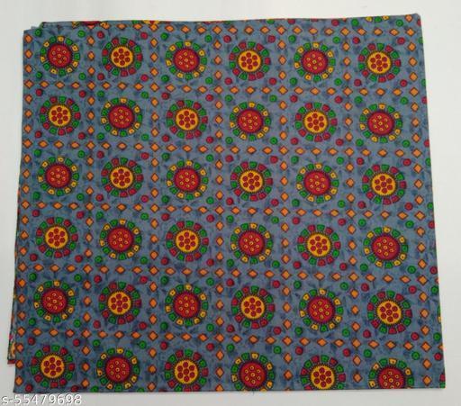 Kalamkari Blouse unstitched Cotton 1 Meter multicolor (380)