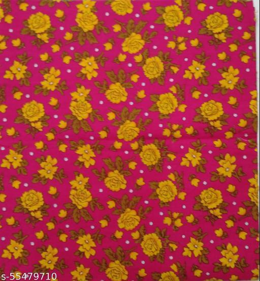 Kalamkari Blouse unstitched Cotton 1 Meter multicolor (418)