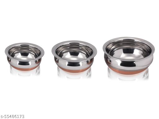 Stainless Steel Copper Handi