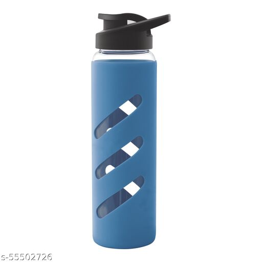 TREO Proteger Borosilicate Glass Bottle with Silicon Protector Packaging