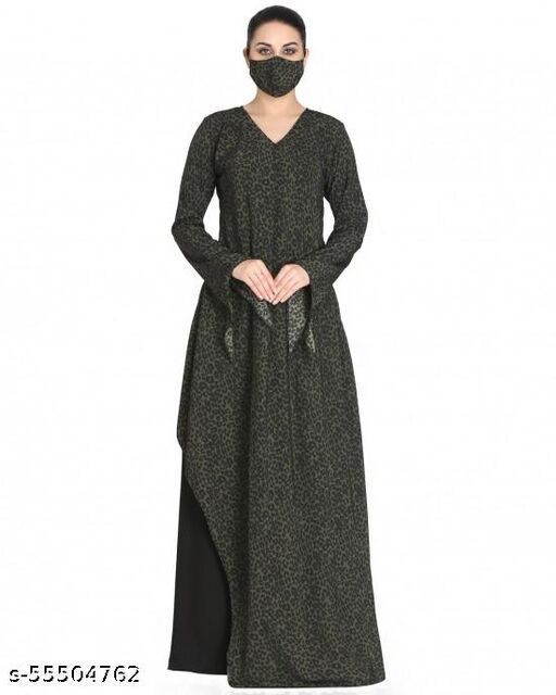 Modest Dress With Designer Cuts