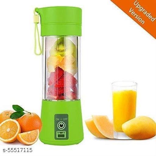 Ojasveda 4 Blade Rechargeable Portable Electric USB Juicer Bottle Blender for Making Juice, Travel Juicer for Fruits and Vegetables Juice Maker Machine