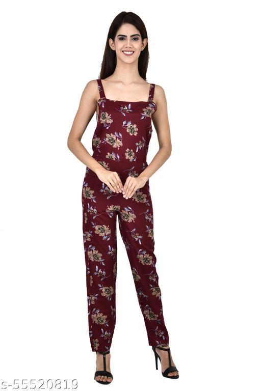 ldhsati Womens lite Maxi Jumper Jumpsuit Multicolour Trendy Fashionable