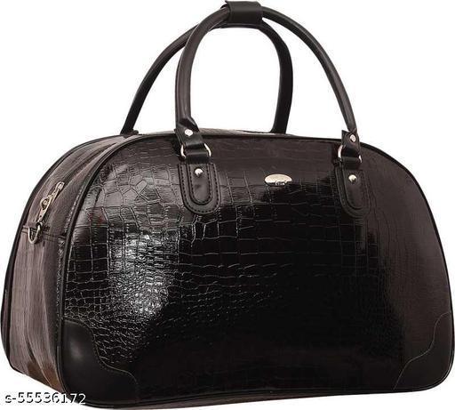 20 L Hand Duffel Bag - Black Woman Travel Duffel Bag - Black - Regular Capacity