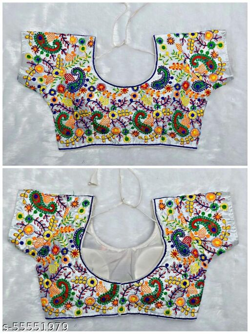 Stylish Embroidery Blouse