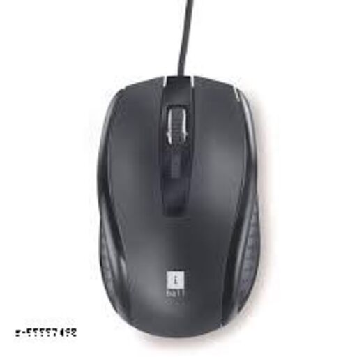 iBall Style36 Advanced Optical USB Mouse,Black