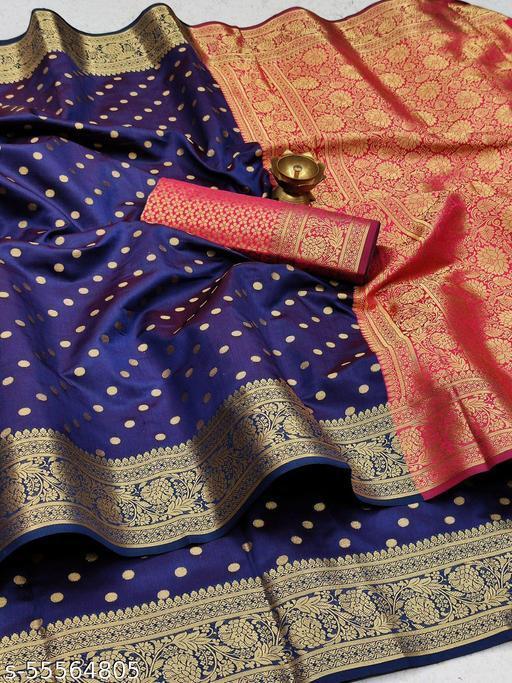Womens banarasi silk sdaree