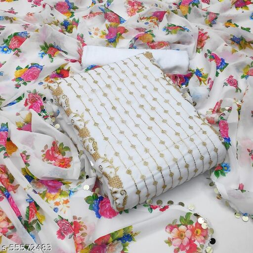 Bhavani Creation Women's Un Stitched dress Material