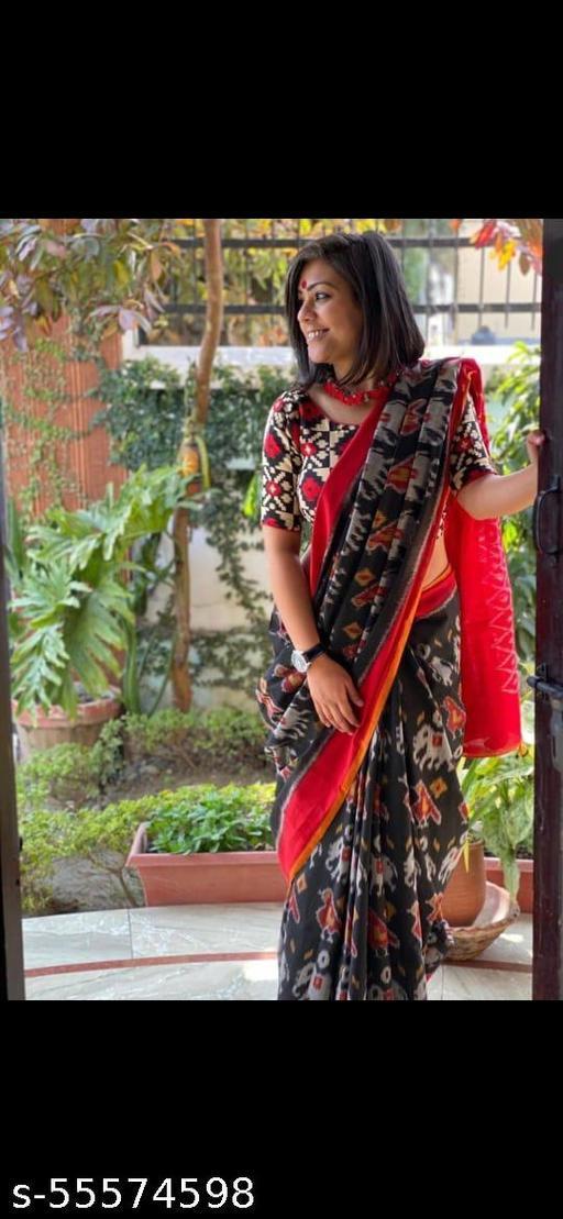 Jaipuri Pure Cotton Printed Saree