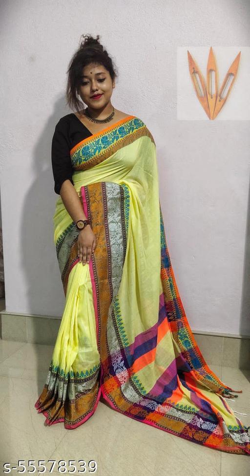 Khadi Benarasi saree