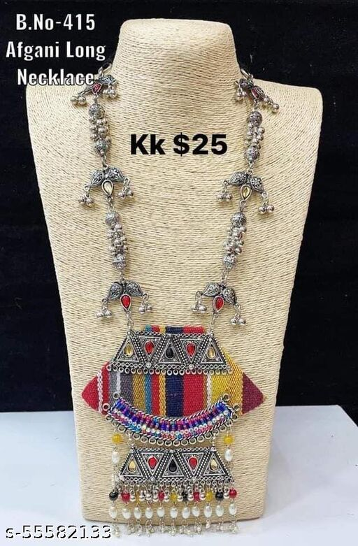 Hand Made Multicolor Necklace